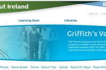 Griffiths valuation website image
