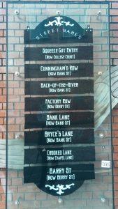 Belfast Street Names