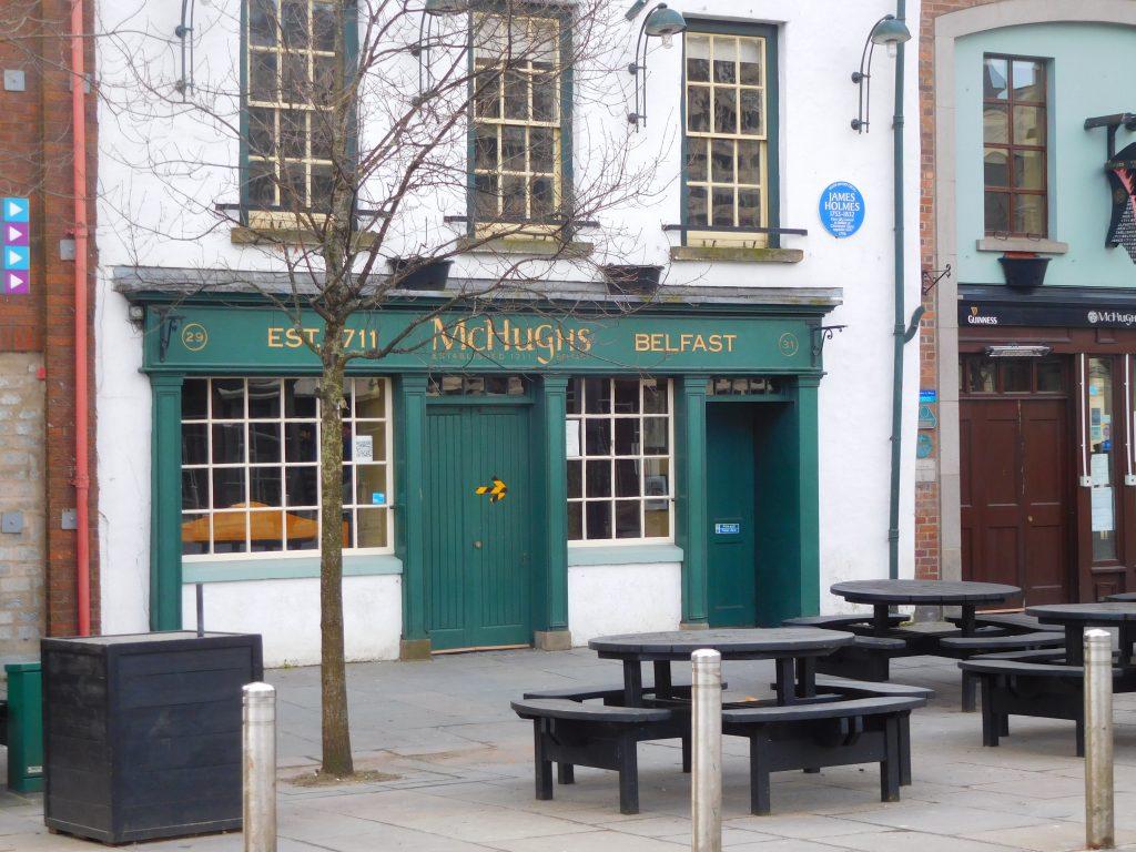 McHugh's Pub - seating at Front