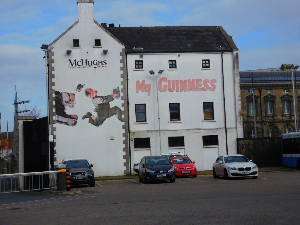 McHugh's Pub - Rear View