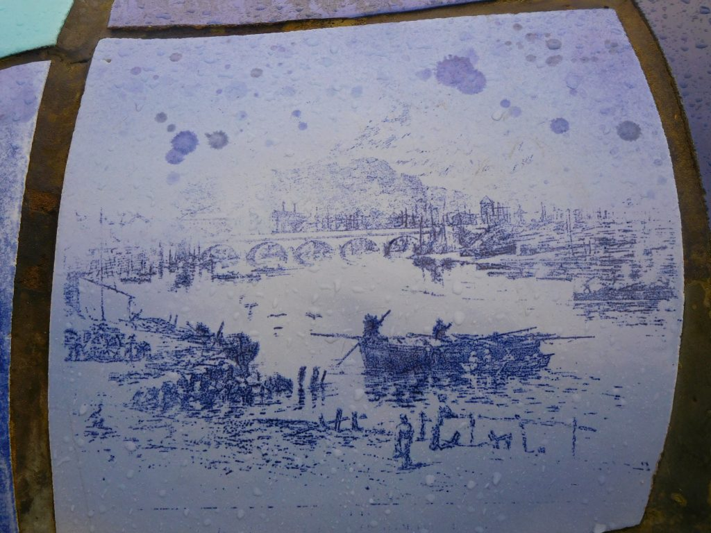 Big Fish Tile - Old Harbour View