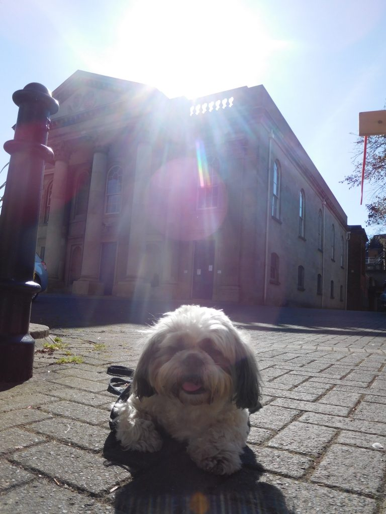 Scotty at St Georges Church
