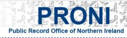 Public Records Office Of Northern Ireland online will search logo