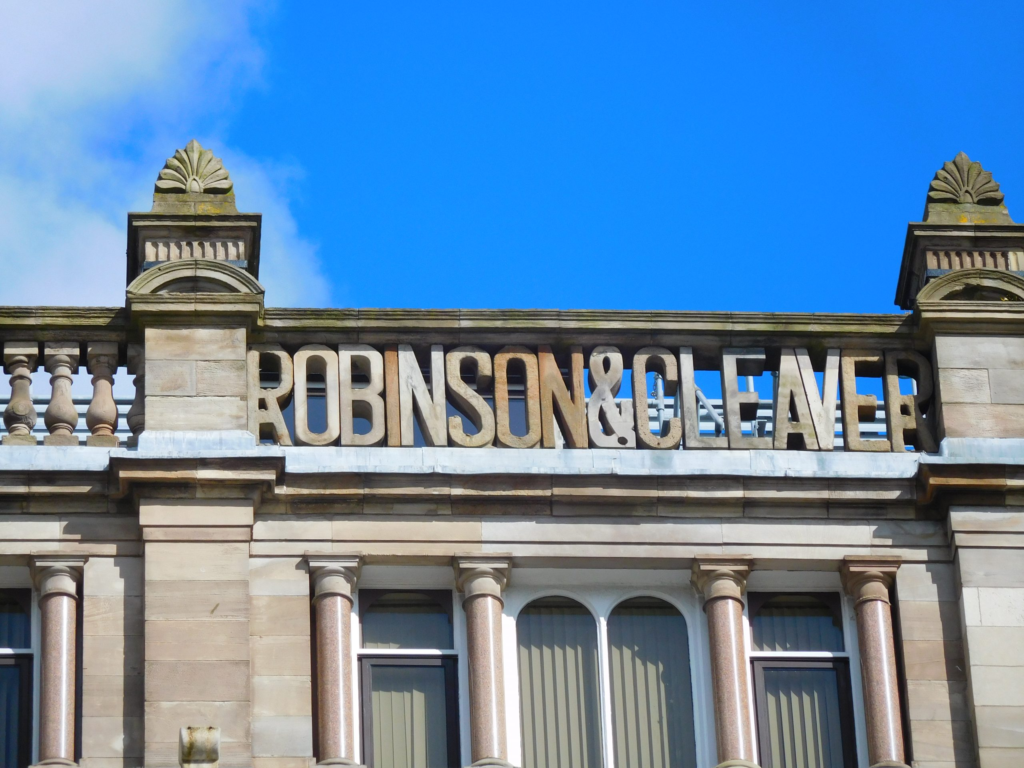Robinson & Cleaver roofline