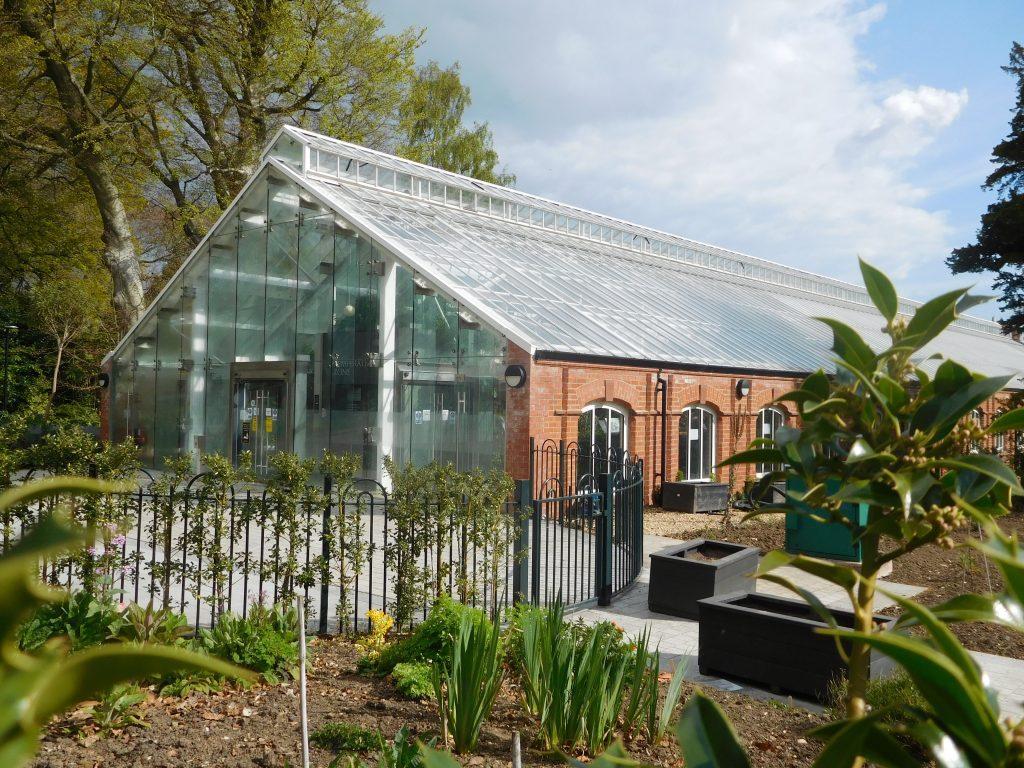 Botanic Gardens Belfast - The Tropical Ravine Entrance