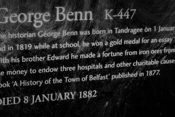 George Benn Sign, Belfst City Cemetery
