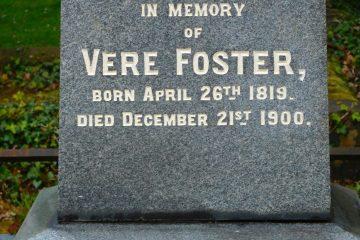 Vere Foster Grave Inscription