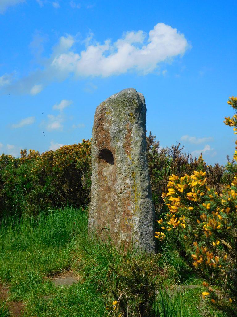 The Holestone on the mound