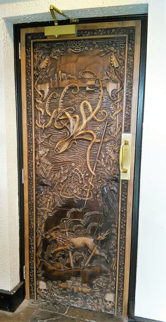 Game of Thrones Door at the Percy French, Newcastle