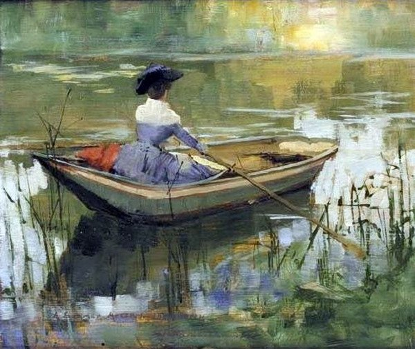 John Lavery - A Summer Afternoon