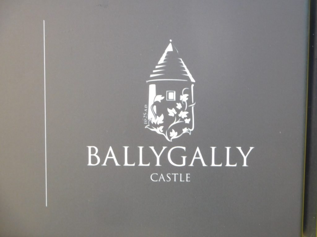 Ballygally Castle Signage