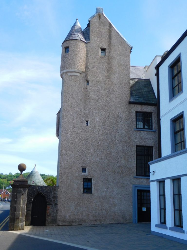 The old castle with turret room