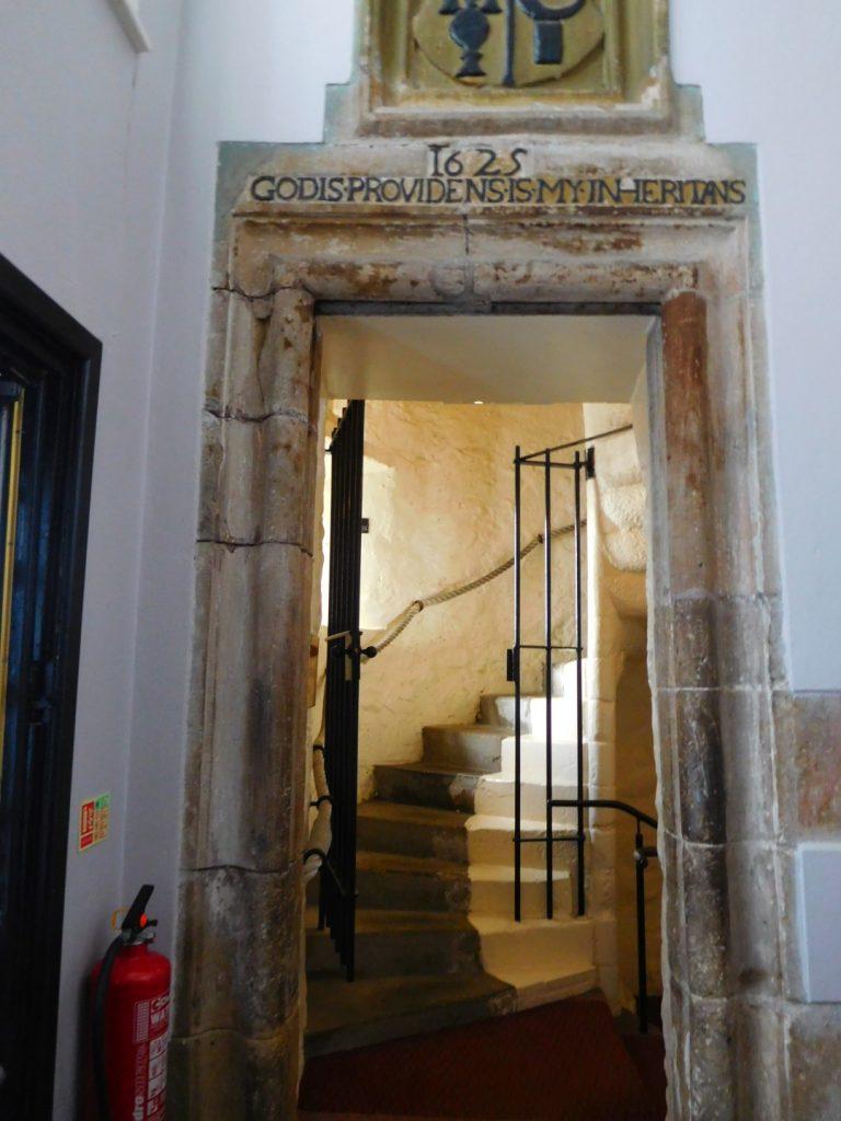 The old Castle doorway