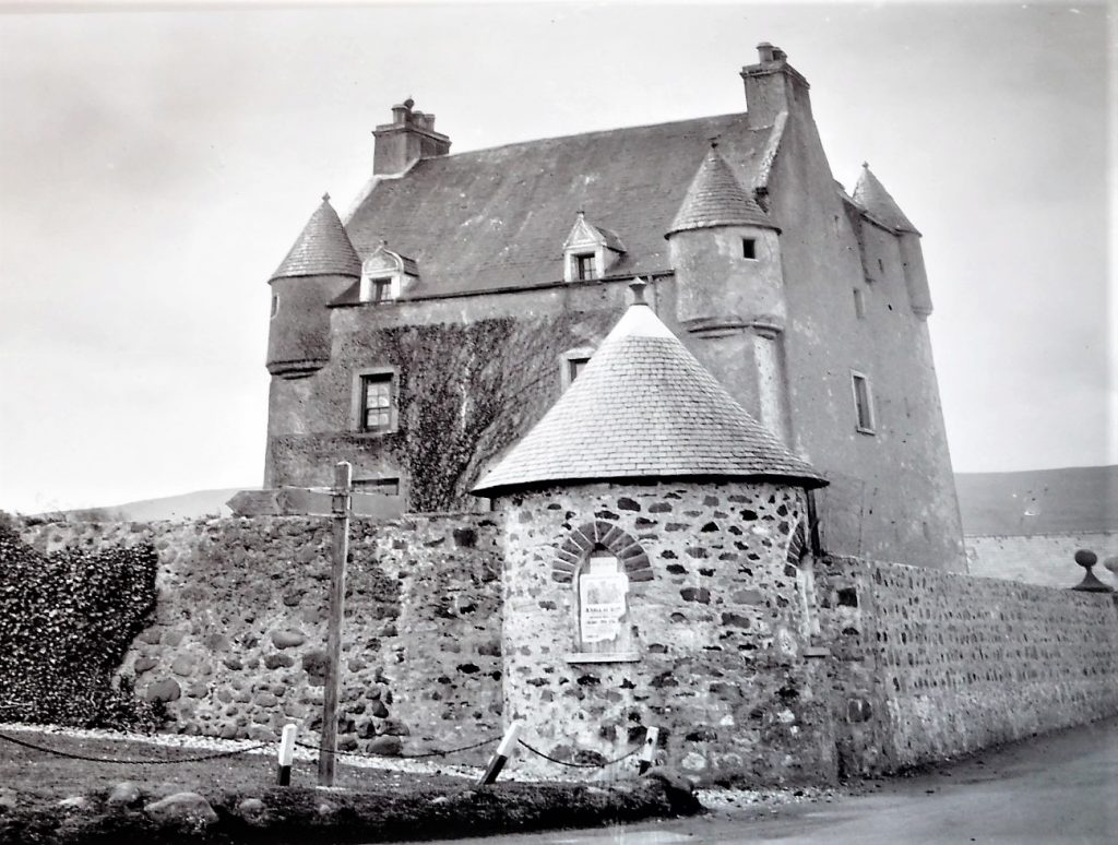 Ballygally Castle before the hotel construction