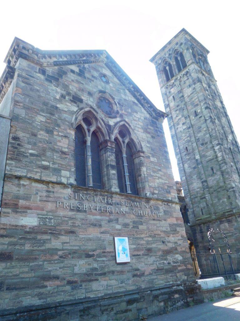 Sinclair Seamen's Presbyterian Church Exterior