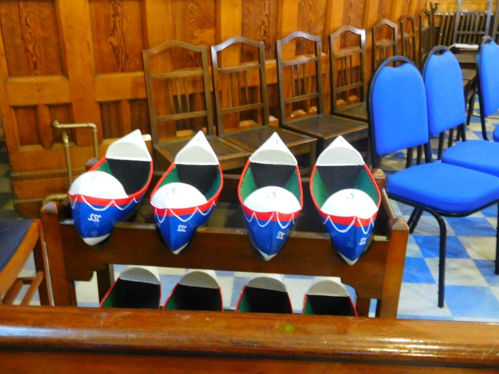 Lifeboat collection boxes