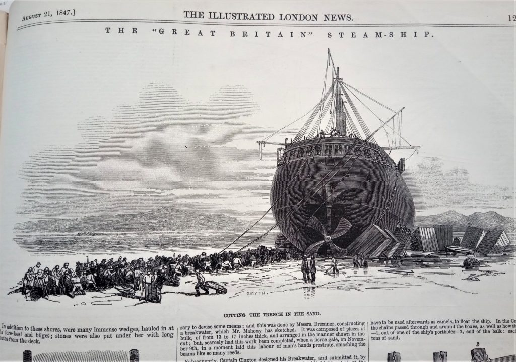 The SS Great Britain Steamship