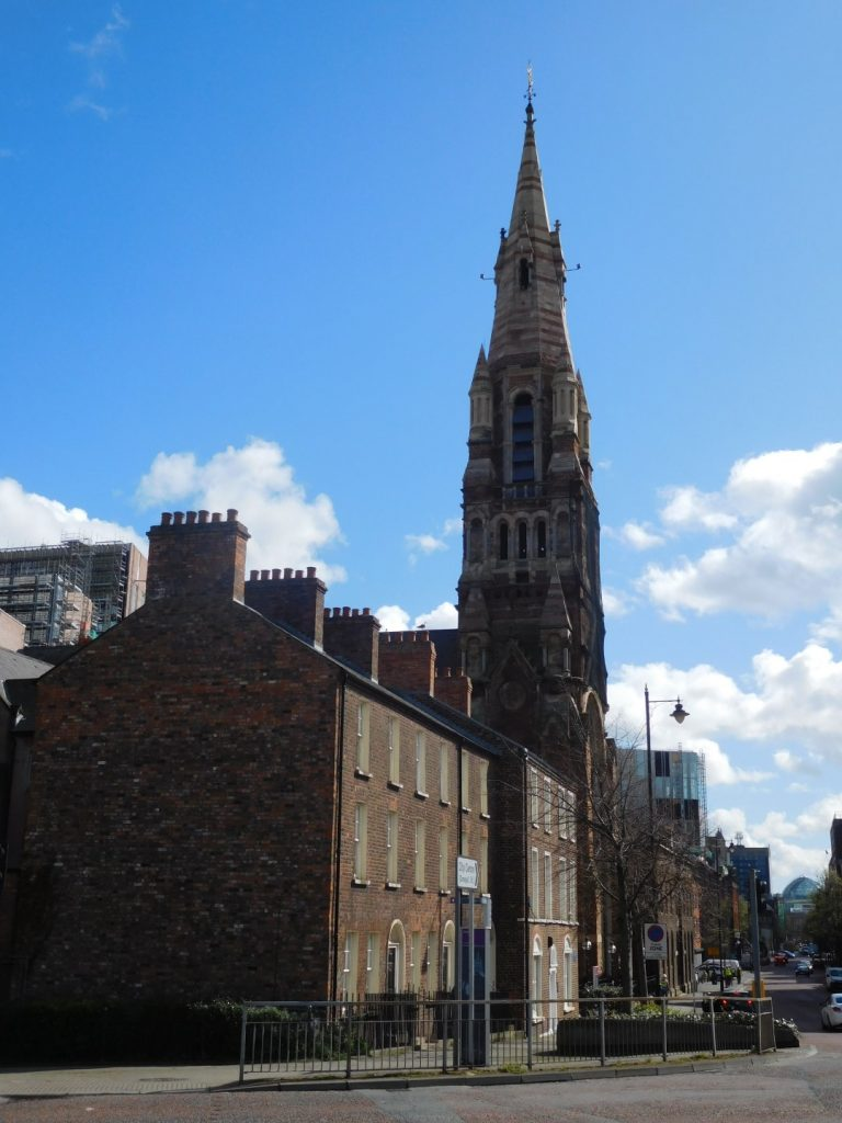Donegall Street View with Saint Patrick's