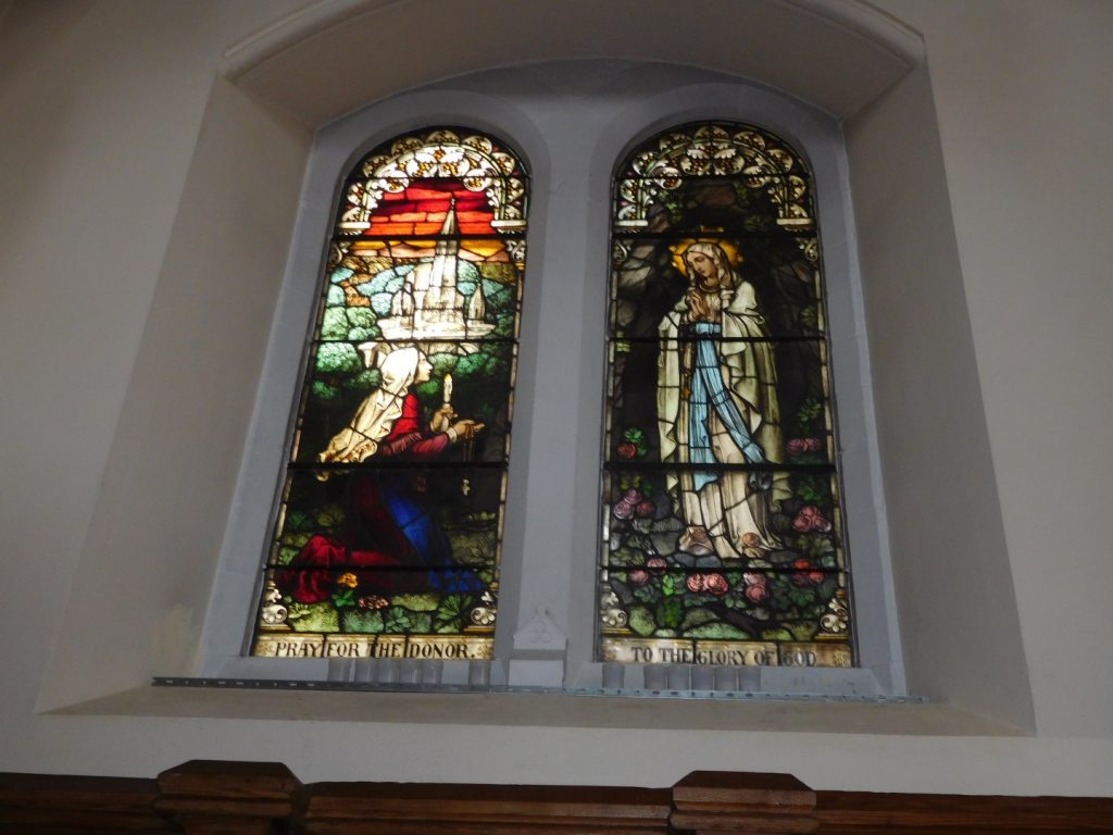 Stained Glass Window - Our Lady of Lourdes