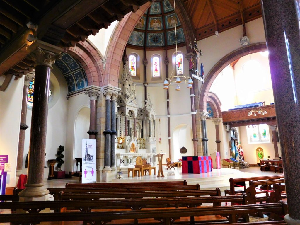Saint Patrick's Church - from the pews
