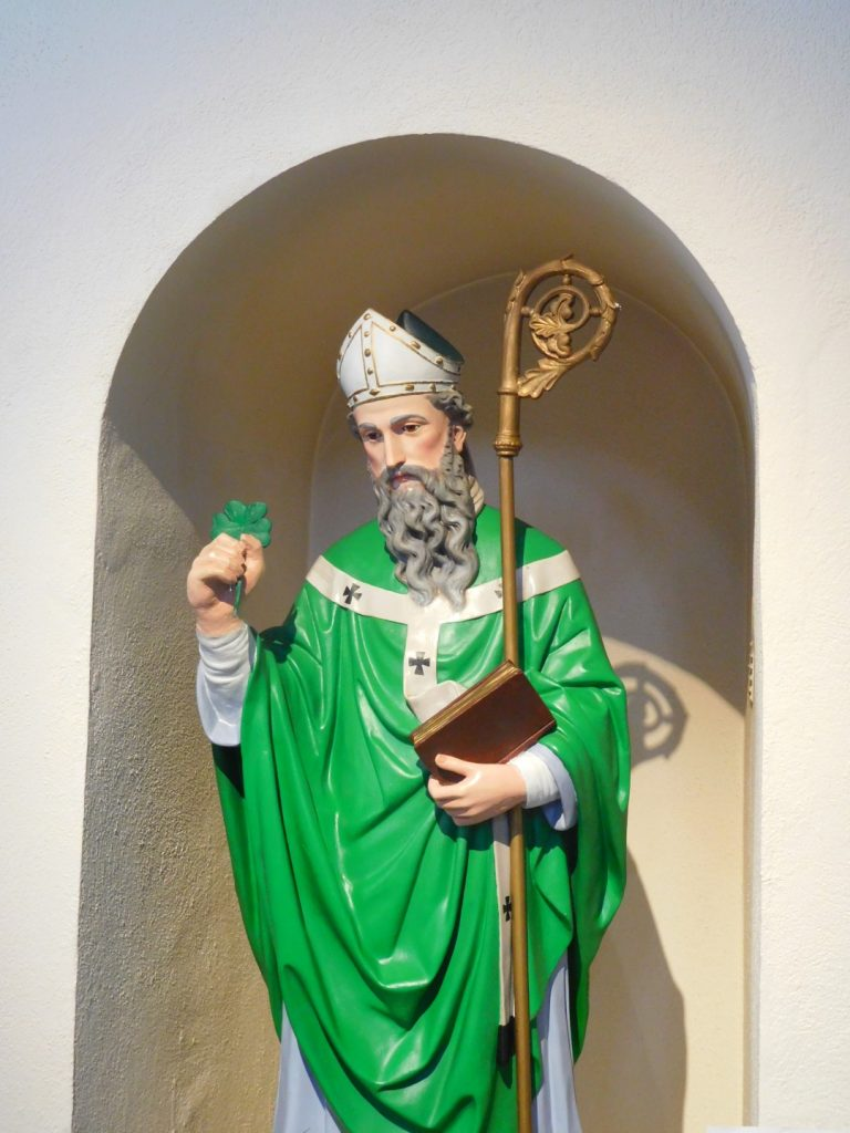 Saint Patrick with Shamrock