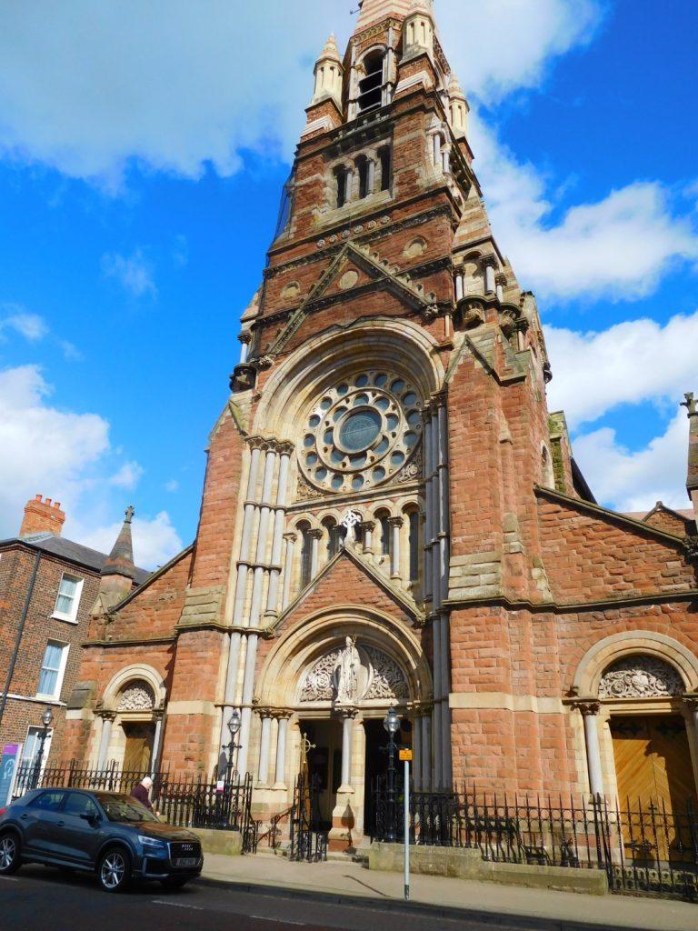 Saint Patrick's Church entrance