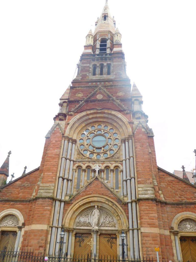 Saint Patrick's Church Front Elevation