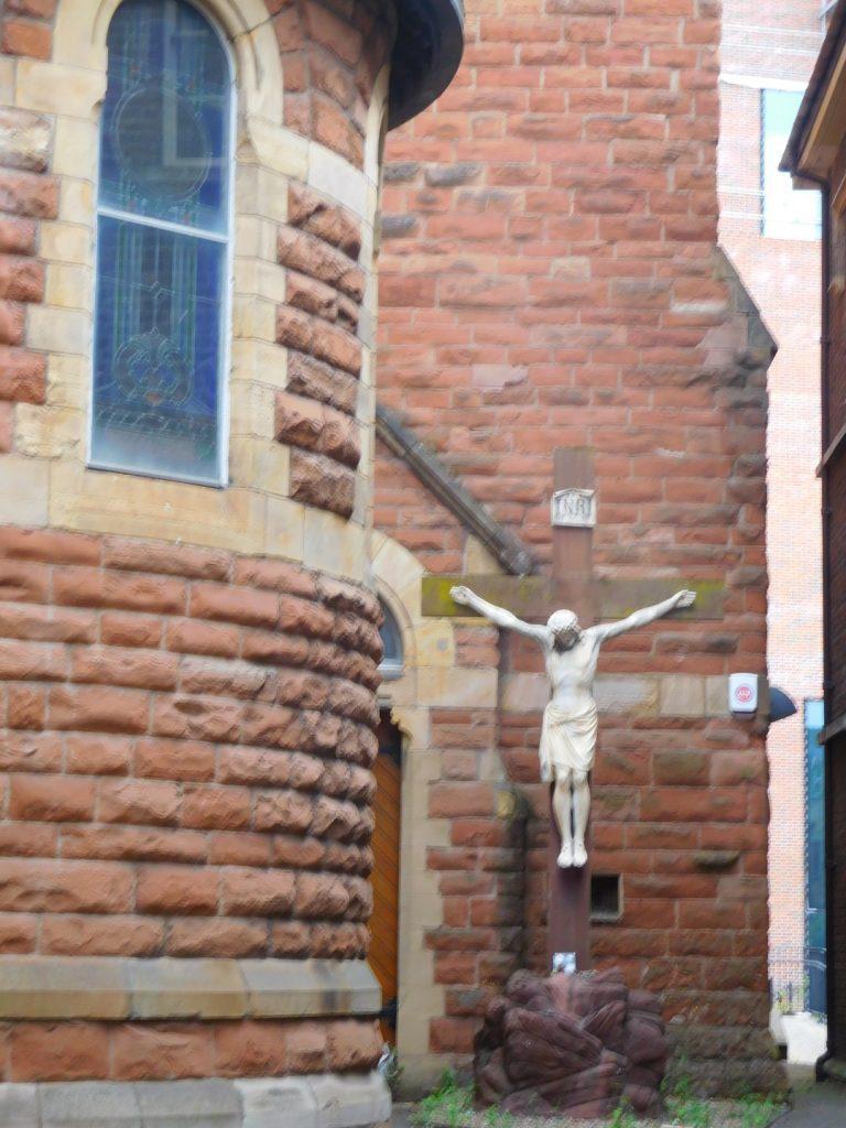 Saint Patrick's Church Crucifixion Statue