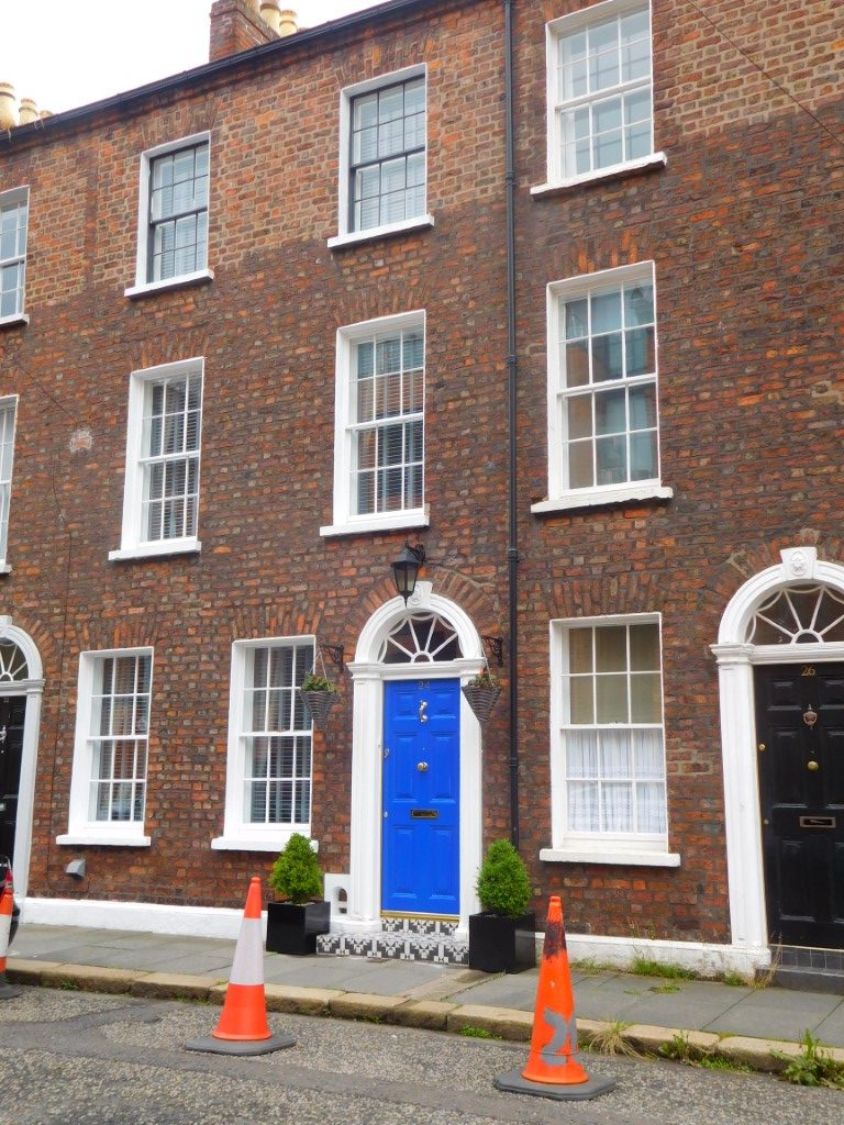 Renovated Joy Street houses