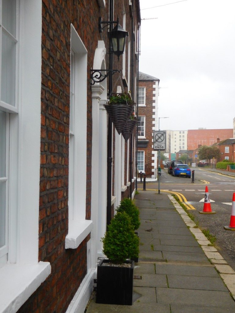 Joy Street footpath view