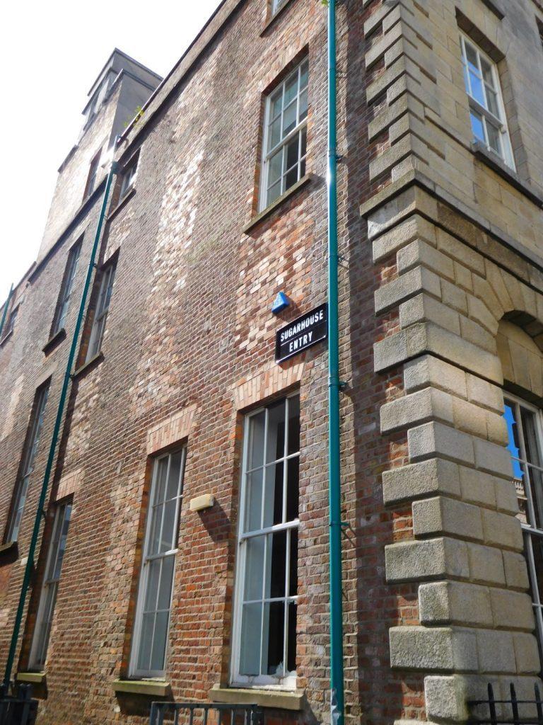 Sugarhouse Entry, Waring Street