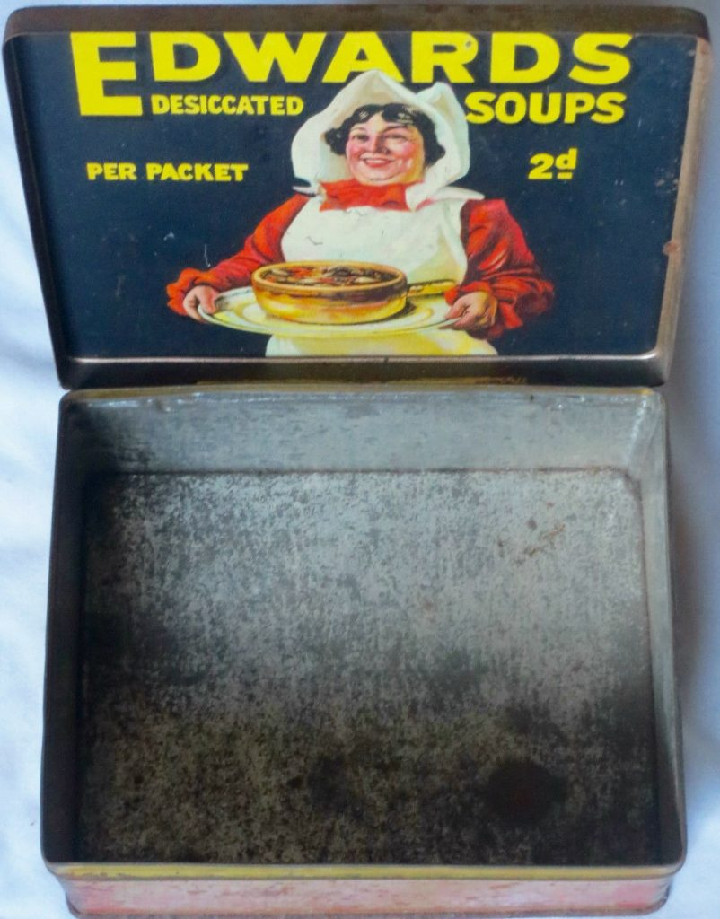 Edwards Desiccated Soup Packet Tin