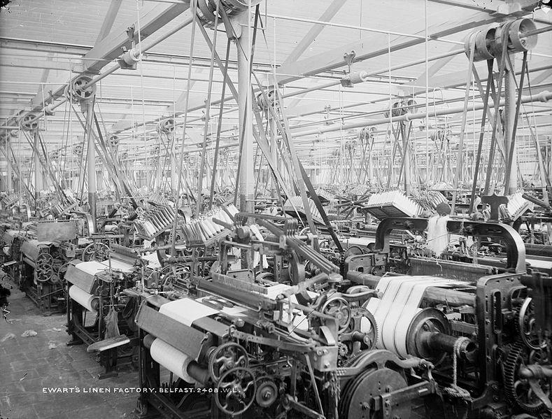 Ewarts Linen Factory Belfast
