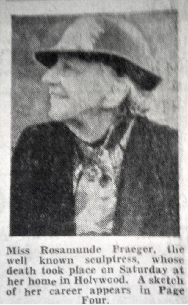 Obituary - Rosamond Praeger