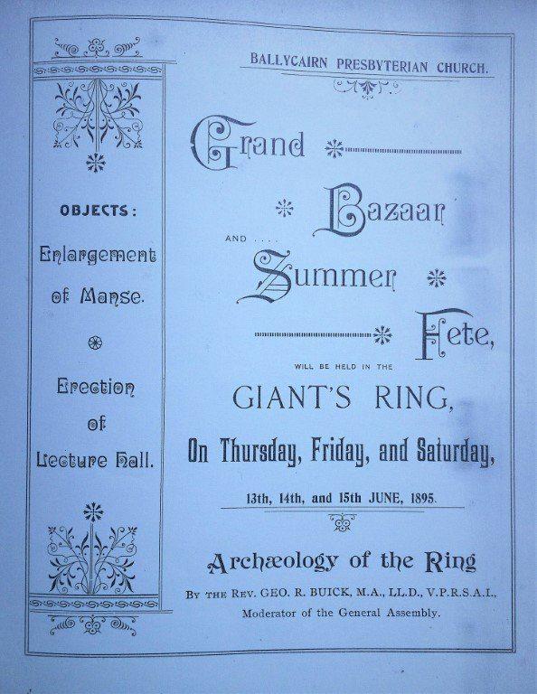 Ballycairn Presbyterian Church Summer Fete Pamphlet 1