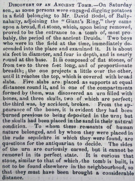 News-Letter Story 21 Nov 1855