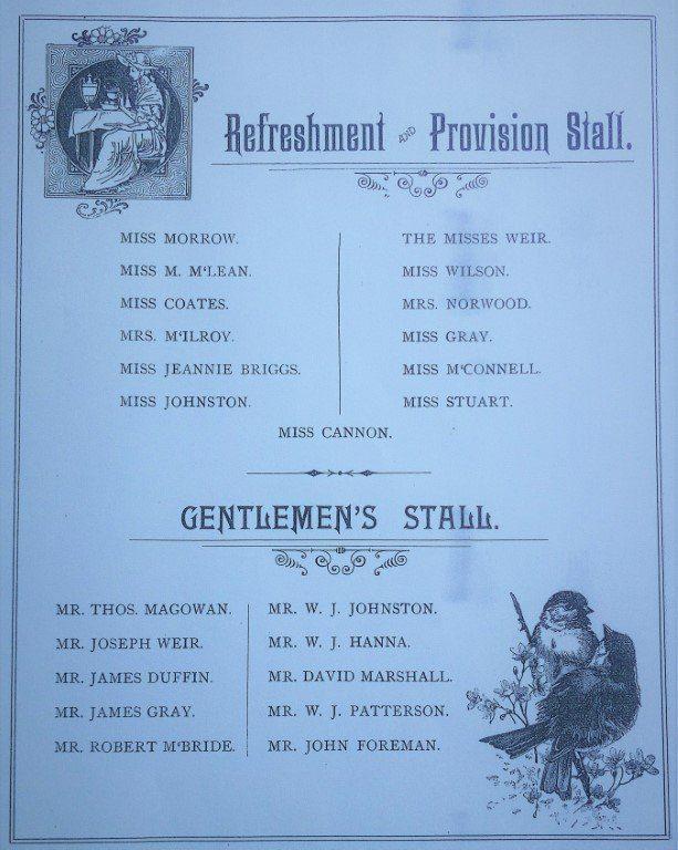 Ballycairn Presbyterian Church Summer Fete Pamphlet 6