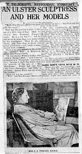Belfast Telegraph Article on Rosamond Praeger