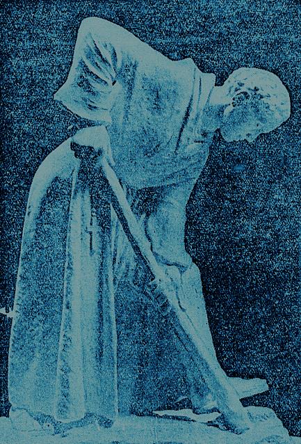 Saint Fiachra Sculpture