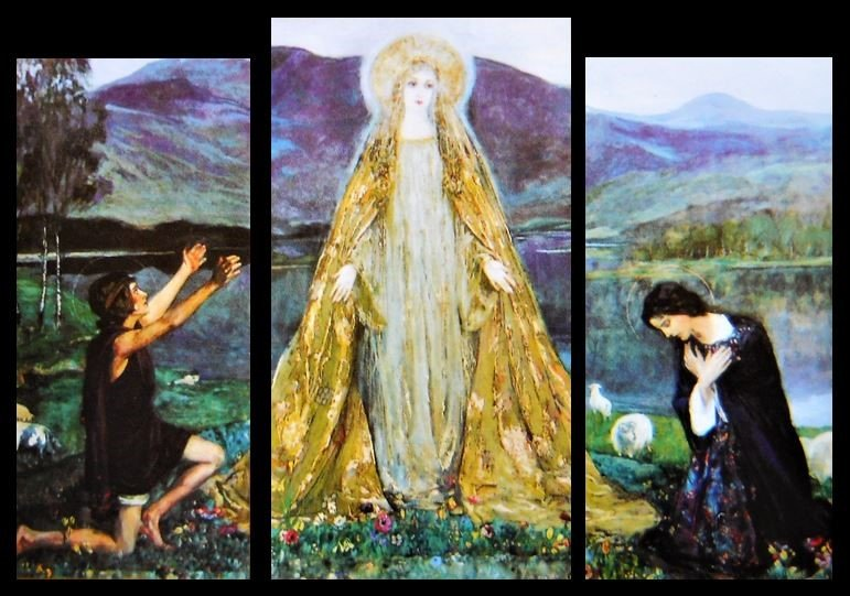 The Madonna of the Lakes by Sir John Lavery