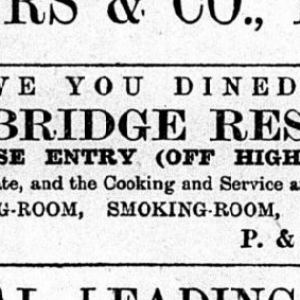Sugarhouse Entry - Northern Whig 07 12 1901