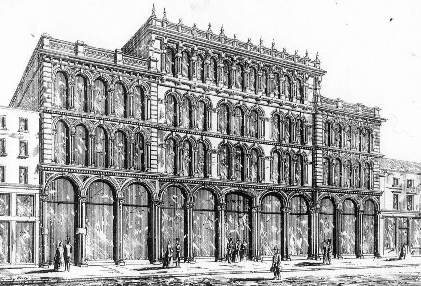 Arnott's Original Store - Dublin Builder 15thJune 1866