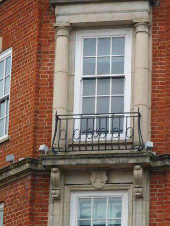 Arnotts - wrought iron balconies