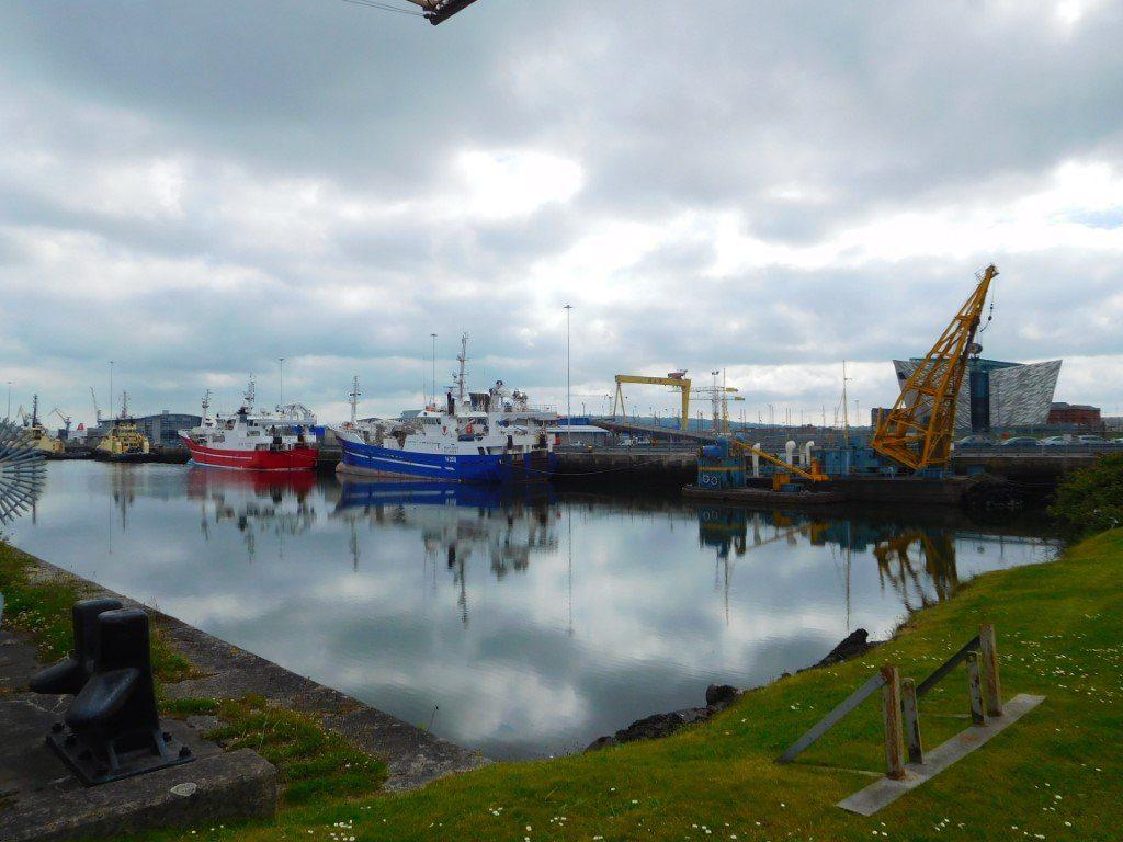 Belfast Docks scene