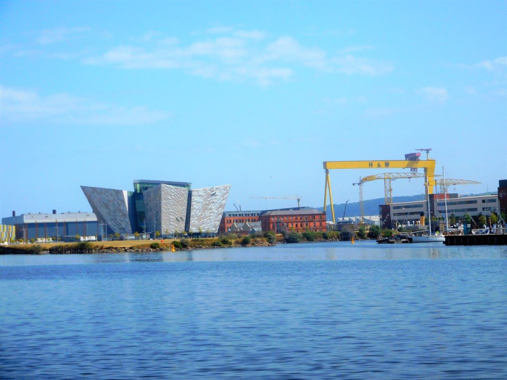 The Titanic Centre with H&W Cranes