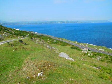 Return to the Antrim coast road