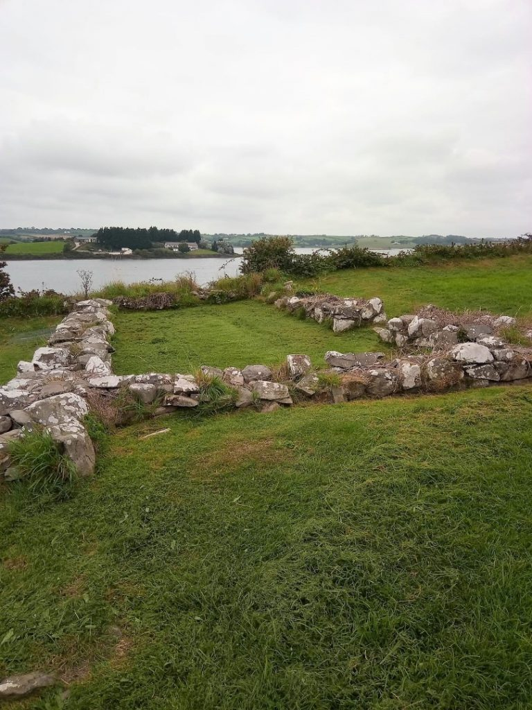 Ruins on the Lough