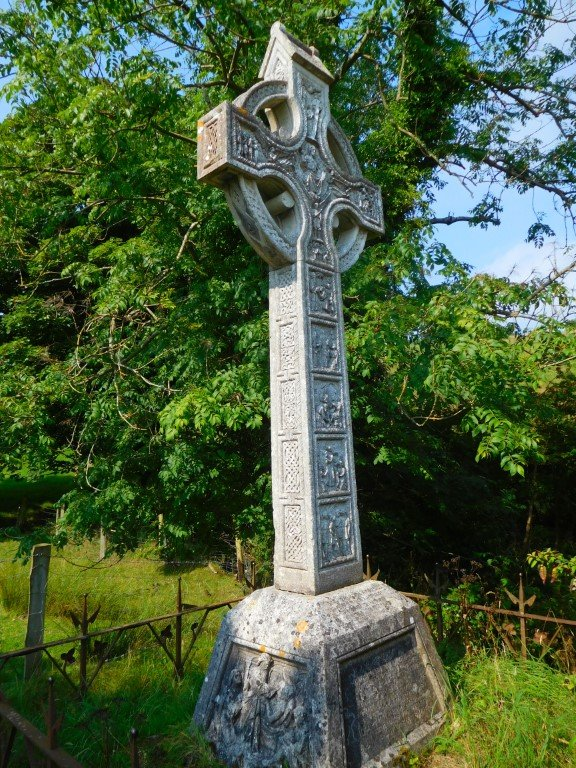 James McDonnell Celtic Cross Memorial