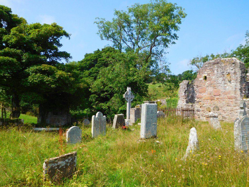 James McDonnell Celtic Cross in Layde Churchyard
