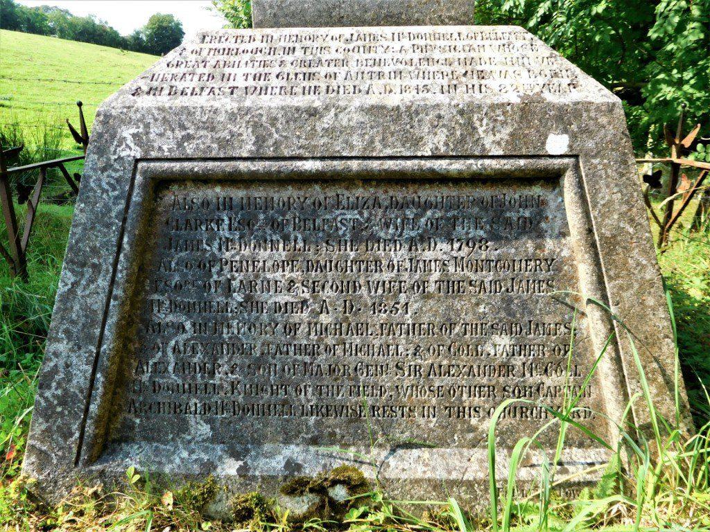 James McDonnell Memorial Inscription
